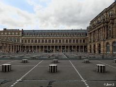 ... (Jean S..) Tags: louvre building castle paris sky clouds windows