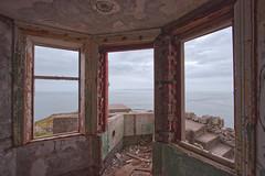 The View Hame! (captures.in.time) Tags: scotland ireland seascape coastguard sea land summer remote abandoned northernireland landscape