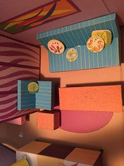 Toymaster Doll House (lexiechan) Tags: doll dollhouse house cardboard vintage barbie barbies scale size 16 sears francie mod