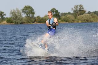 Mark wakeboarding