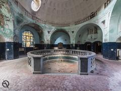 Radium Bath (_NeQo_) Tags: abandoned architecture roman spa baths thermae health decayed peeling paint ngc