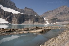 "Upper Grinnell Lake with Salamander Glacier • <a style=""font-size:0.8em;"" href=""http://www.flickr.com/photos/63501323@N07/43263940384/"" target=""_blank"">View on Flickr</a>"