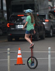 Unicyclist Girl (Scott 97006) Tags: girl kid female rider unicycle cyclist street skill young