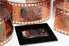 Side by Side of Kodak Portra 800 & Ektachrome 320. Both captured with a Canon eos 7NE & ef 40mm stm (Jovan Jimenez) Tags: kodak portra 800 ektachrome 320 lightbox slide film light box analog analogue negative streetphotography