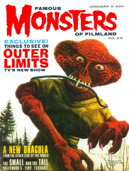 Famous Monsters of Filmland #26 (1964) (gameraboy) Tags: vintage famousmonsters cover magazine magazinecover famousmonstersoffilmland 26 1964 theouterlimits 1960s painting art illustration