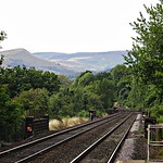 View from Hathersage railway station thumbnail