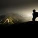 山上的時光 (Y.P. Jhou) Tags: 合歡山 台灣 南投 風景 武嶺 旅遊 登山 剪影 taiwan landscape mountain hehuanshan traveler hiking travel samyang fujifilm xt20 wideangle sunset 夕陽