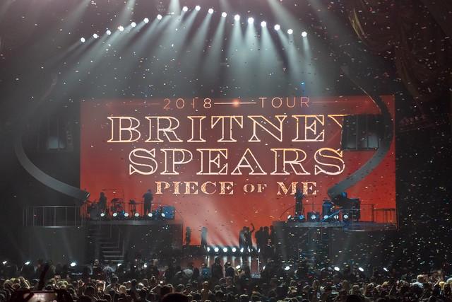 Britney Spears : Piece Of Me - Radio City Music Hall, New York (2018)