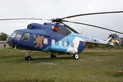 Mil Mi-8 der Deutschen Marine in Sonderlackierung (Helgoland01) Tags: nordholz niedersachsen museum hubschrauber helicopter milmi8 marine marineflieger