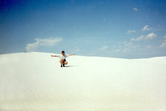 WHITE SAND NAT. MONUMENT (ADRIANO ART FOR PASSION) Tags: bianco white whitesand newmexico deserto desertodigesso scansione 1998 adriano adrianoartforpassion film pellicola dia slide usa