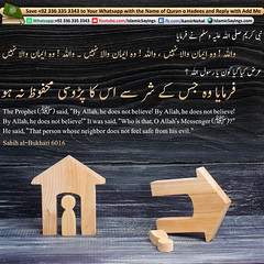 hat-person-whose-neighbor-does-not-feel-safe-from-his-evil (aamirnehal) Tags: quran hadees hadith seerat prophet jesus moses book aamir nehal love peace quotes allah muhammad islam zakat hajj flower gift sin virtue punish punishment teaching brotherhood parents respect equality knowledge verse day judgement muslim majah dawud iman deen about son daughter brother sister hadithabout quranabout islamabout riba toheed namaz roza islamic sayings dua supplications invoke tooba forgive forgiveness mother father pray prayer tableegh jihad recite scholar bukhari tirmadhi