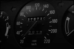 monospeedo (w1ngs_fly) Tags: volvo turbo instrument cluster gauge speedometer odometer car