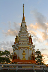 Phra That Mahachai, Nakhon Phanom, Thailand (www.icon0.com) Tags: ancient architecture asia beautiful bone buddha buddhism building chedi chest colorful culture local nakhon northeastern pagoda phanom prasit relic religion respect sculpture statue symbol temple thailand tower wat worship