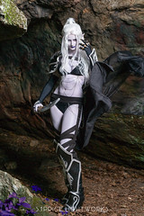 Drow Elf (S1Price Lightworks) Tags: drow elf cosplay dark elves underdark dd dungeons dragsns gary gygax cosplayer girl photoshoot cave cape canon 5diii sigma art 50mm summer 2018