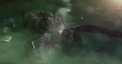 ʟᴇᴛ ᴛʜᴇ ᴡᴀᴛᴇʀ ᴡᴀsʜ ᴀᴡᴀʏ ʏᴏᴜʀ sɪɴs.. (Moira Morelli) Tags: scifi cyberpunk blood water green roleplay nisyan