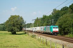 LINΞΛS 2839 Sint-Mariaburg (TreinFoto België) Tags: bombardier traxx f140 ms2e 2839 lineas alpha trains 34472 antwerpennoord main hub volvo sintmariaburg lijn 12 maschen 41510