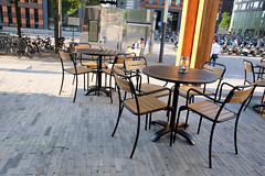 DSCF5485 (amsfrank) Tags: amsterdam zuidas cirlce candid summer morning