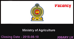 Financial Management Specialist – Ministry of Agriculture (Jobary.LK) Tags: government jobs dinamina job vacancies sri lanka sunday observer top 2018 xpress