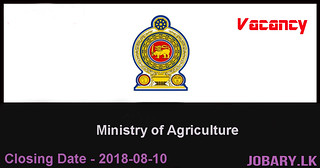 Financial Management Specialist – Ministry of Agriculture