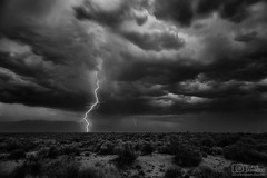 No reason not to (Dave Arnold Photo) Tags: nm nmex newmex newmexico loslunas monochrome manzano mountains range lightning lightening blackwhite bw desert storm stormy thunderstorm thunder image pic us usa picture severe photo photograph photography photographer davearnold davearnoldphotocom nighttime sun scenic cloud rural summer badweather top wet daylight canon 5d mkiii 24105mm huge big valenciacounty landscape nature monsoon outdoor weather rain rayo cloudy sky cloudburst raincolumn rainshaft season southwest monsoons strike ray flood