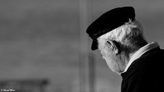 Sailorman (patrick_milan) Tags: portrait sailor man cap old marin navy