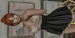 ♚ Look #531 ♚ (Caity Saint) Tags: amd applemay dress event uber ak maitreya redhead truth sl backdrop secondlife pixels