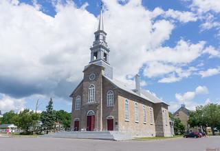 Église de Saint-Laurent - île d'Orléans, P.Q., Canada - 7338