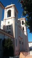 donde fue esto? (sftrajan) Tags: sanfrancisco 2018 church towers afternoon iglesia catholicchurch gearyboulevard therichmond outerrichmond chiesa eglise architecture 20thcentury