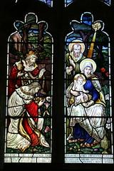 All Saints Church, Barmson, Yorkshire, England (Welderman63) Tags: church window religious religion colour colors art barmston yorkshire england canon 70d