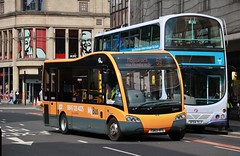 First Glasgow YD63 VFC (53551)   Route 59   Jamaica St, Glasgow (Strathclyder) Tags: first glasgow firstglasgow optare solo sr m720se yd63 vfc yd63vfc 53551 jamaica street scotland spt mybus caledonia mcgills greenock c7806 hendersontravel hamilton 363