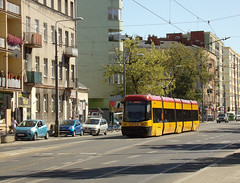 "Pesa 120Na ""Swing"", #3158, Tramwaje Warszawskie (transport131) Tags: tram tramwaj tw warszawa ztm warsaw wtp pesa 120na swing"