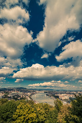 View from Gellert hill (Vagelis Pikoulas) Tags: budapest buda pest hungary travel europe canon 6d tokina 1628mm river city cityscape urban landscape clouds