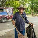 Sweeper, Chiang Mai, Thailand thumbnail