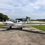 Diamondstar DA-40, Hooks Memorial Airport, Spring, TX thumbnail