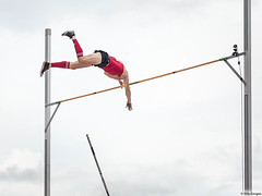 Pole vaulting (Ville Kangas) Tags: pole vault sports vaulting athlete