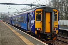 SPRINGBURN 130215 156506 (SIMON A W BEESTON) Tags: springburn scotrail 156506 2j62