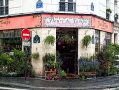 Fleurs à profusion (Jean S..) Tags: flowers street boutique store bloom building colors