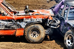 Smash!!! (Laurence's Pictures) Tags: boone county fair belvidere illinois state show animal politican tractor 2018 demolision demolition derby cars race auto automobile america crash junk racing nascar em up