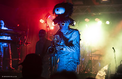 Here Come the Mummies! (mobybick2) Tags: cedarburgsummersounds events artistsandbands herecomethemummies musicgenres funkadelic places wisconsin cedarburg venues cedarburgparkbandshell 2018 bassguitar saxophone trumpet
