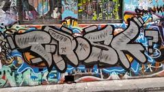 Frosk... (colourourcity) Tags: melbourne burncity colourourcity awesome nofilters original streetart streetartaustralia streetartnow graffiti chrome chromies frosk phrosk tne rod kog hosierlane