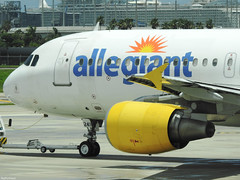 Airbus A320-214 Allegiant Air N241NV (TestForTravel) Tags: eroport airport airplane aviageek aviation avgeek airline air jet p900 plane nikon spotting spotter special shot livery landing land fly taxiway takeoff aeroport allegiant allegiantair a32 a320 320 n241nv fort lauderdale fll ft