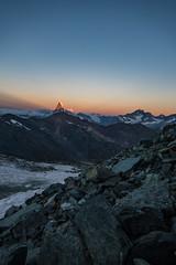 Lever du jour sur le Cervin (ploxien) Tags: valais wallis cervin matterhorn lever soleil montagne mountain mountains montagnes