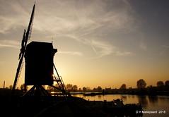 Sunset  Heusden (ditmaliepaard) Tags: zonsondergang sunset heusden molen water bomen trees