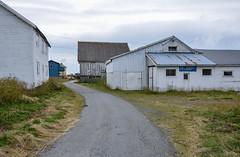 Industrial buildings (AstridWestvang) Tags: architecture coast finnmark industry kiberg varanger