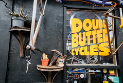Double Butted Cycles at Netil Market in Hackney - London, UK (ChrisGoldNY) Tags: chrisgoldphoto chrisgoldny chrisgoldberg albumcover bookcover licensing forsale sony sonyimages sonyalpha sonya7rii london uk unitedkingdom england britain greatbritain british english hackney eastlondon