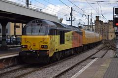 67027 passing Newcastle (Tom 43299) Tags: train newcastlerailwaystation class67 diesel colasrail testtrain 67027