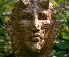 hexagonal mephistopheles 1 (origami joel) Tags: origami mask origamijoel