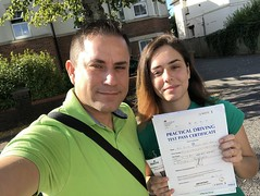 Massive congratulations to Pietra Ferreira passing her driving test with an excellent performance!  www.leosdrivingschool.com