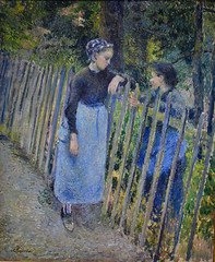 Camille Pissarro - Conversation, 1881 at National Museum of Western Art - Tokyo Japan (mbell1975) Tags: taitōku tōkyōto japan jp camille pissarro conversation 1881 national museum western art tokyo nmwa museo musée musee muzeum museu musum müze museet finearts fine arts gallery gallerie beauxarts beaux galleria painting french impression impressionist impressionism