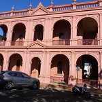 Bundaberg. The School of Arts building. Erected in grand classical style with arcaded verandas in  1888. JPG thumbnail